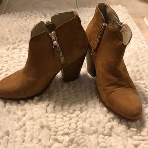Rage and bone tan suede boots
